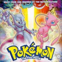 De voorkant van de Pokémon CD - The First Movie